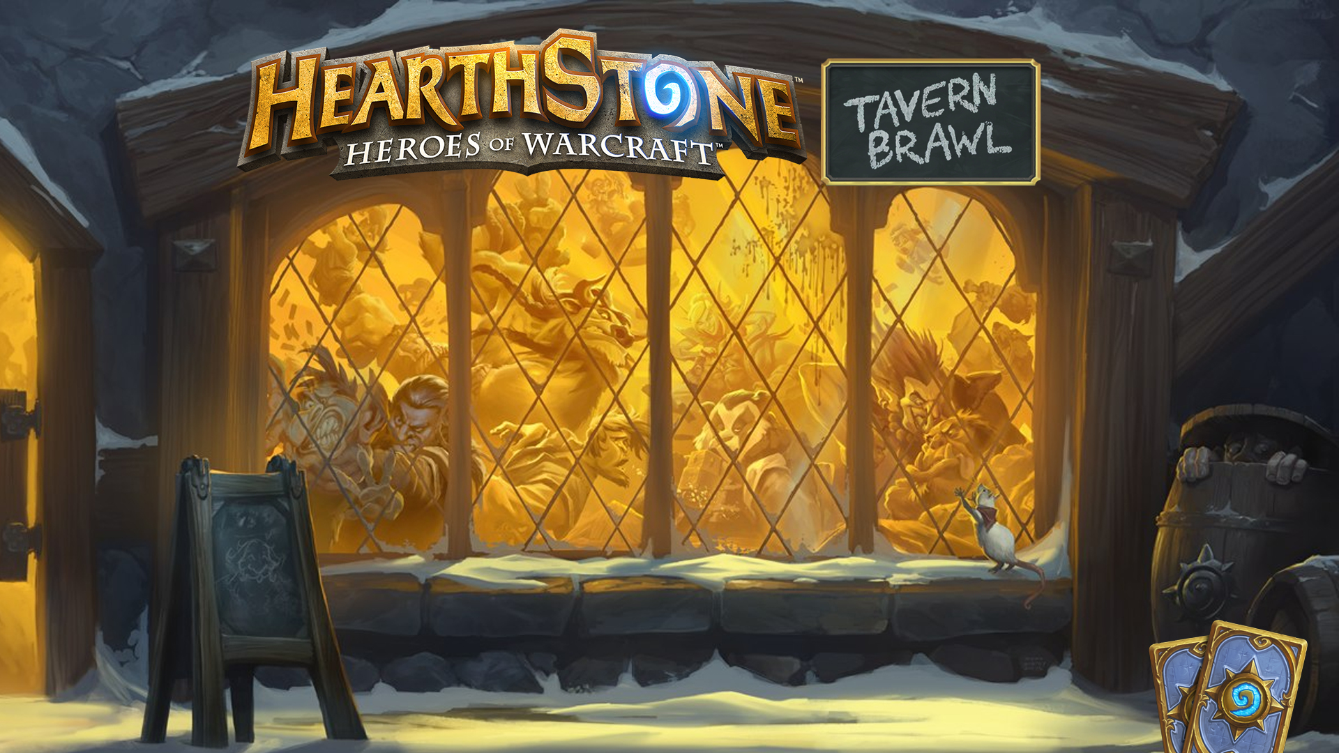 14.30 - Start Hearthstone Tavern Brawl