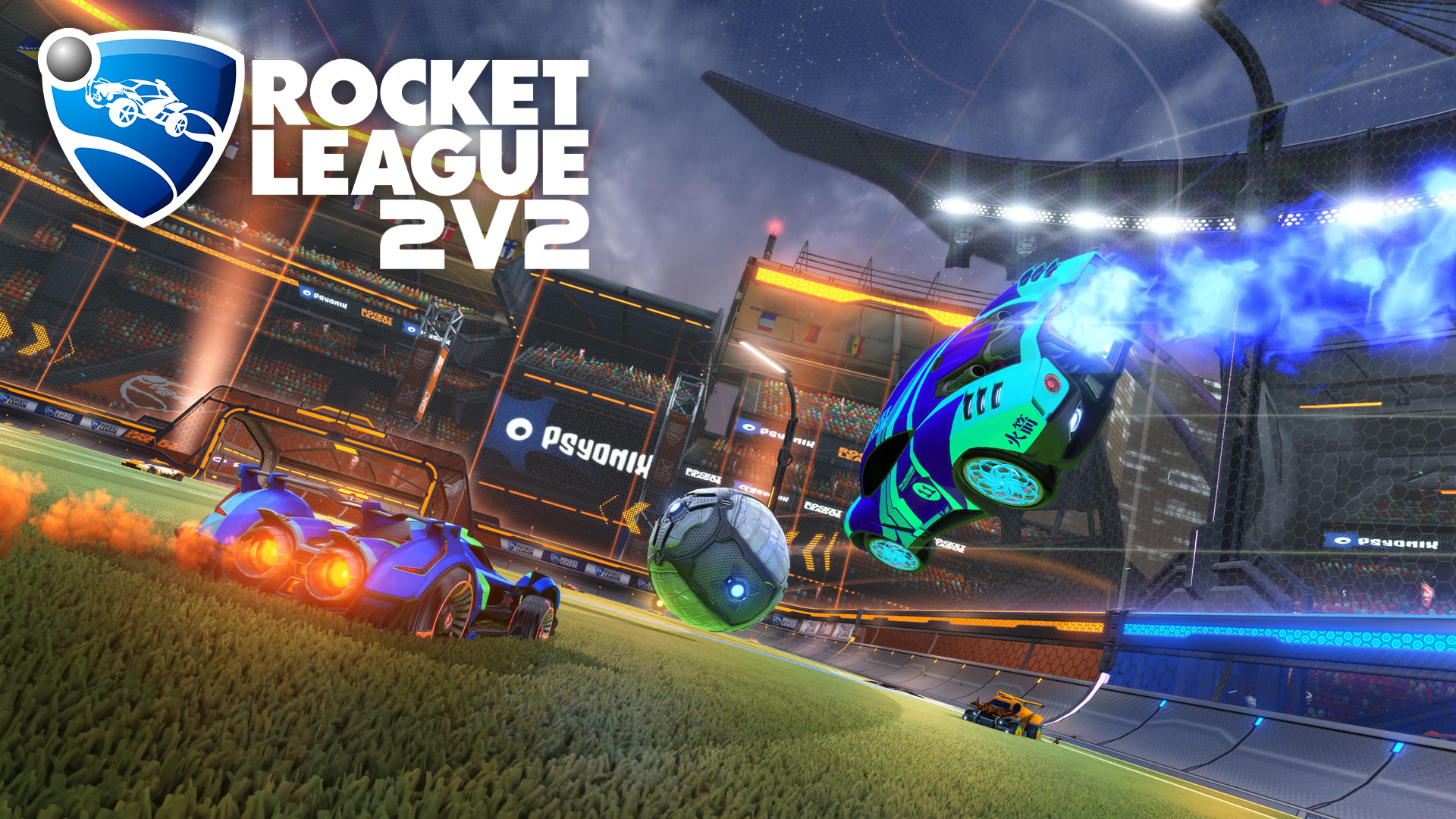 13.30 - Start Rocket League 2v2